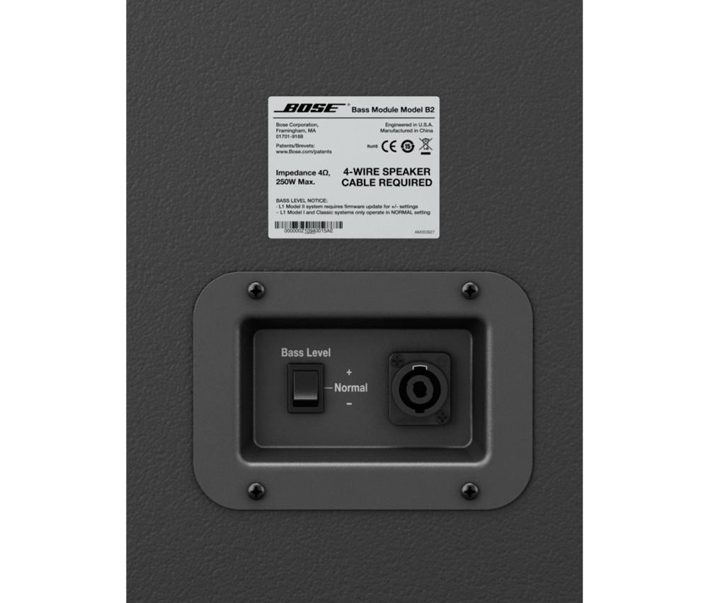 Bose L1 S1 con base B2 y T1 Audio Profesional